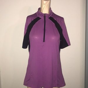 Women's Kerrits equestrian zip shirt medium